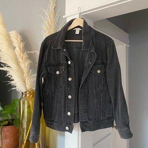 Black Denim H&M Jacket